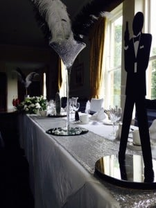 Bond Table Decorations