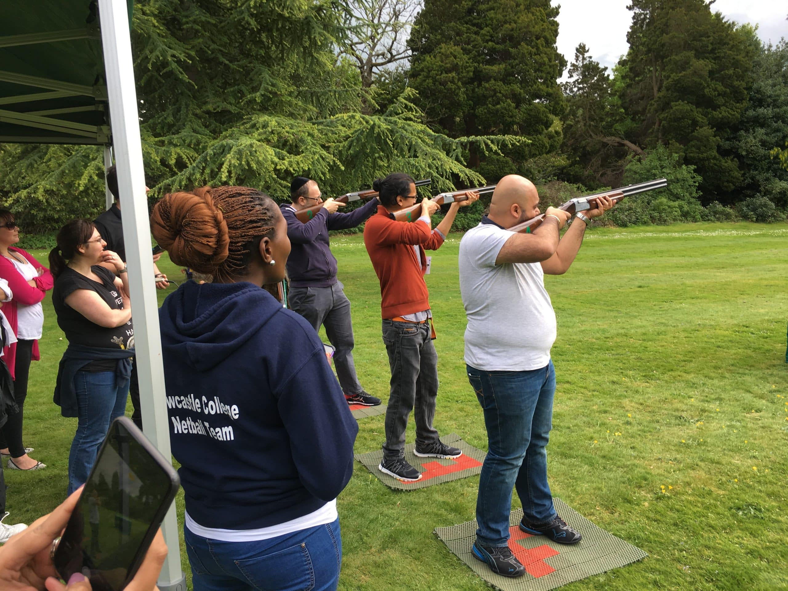 Laser shooting