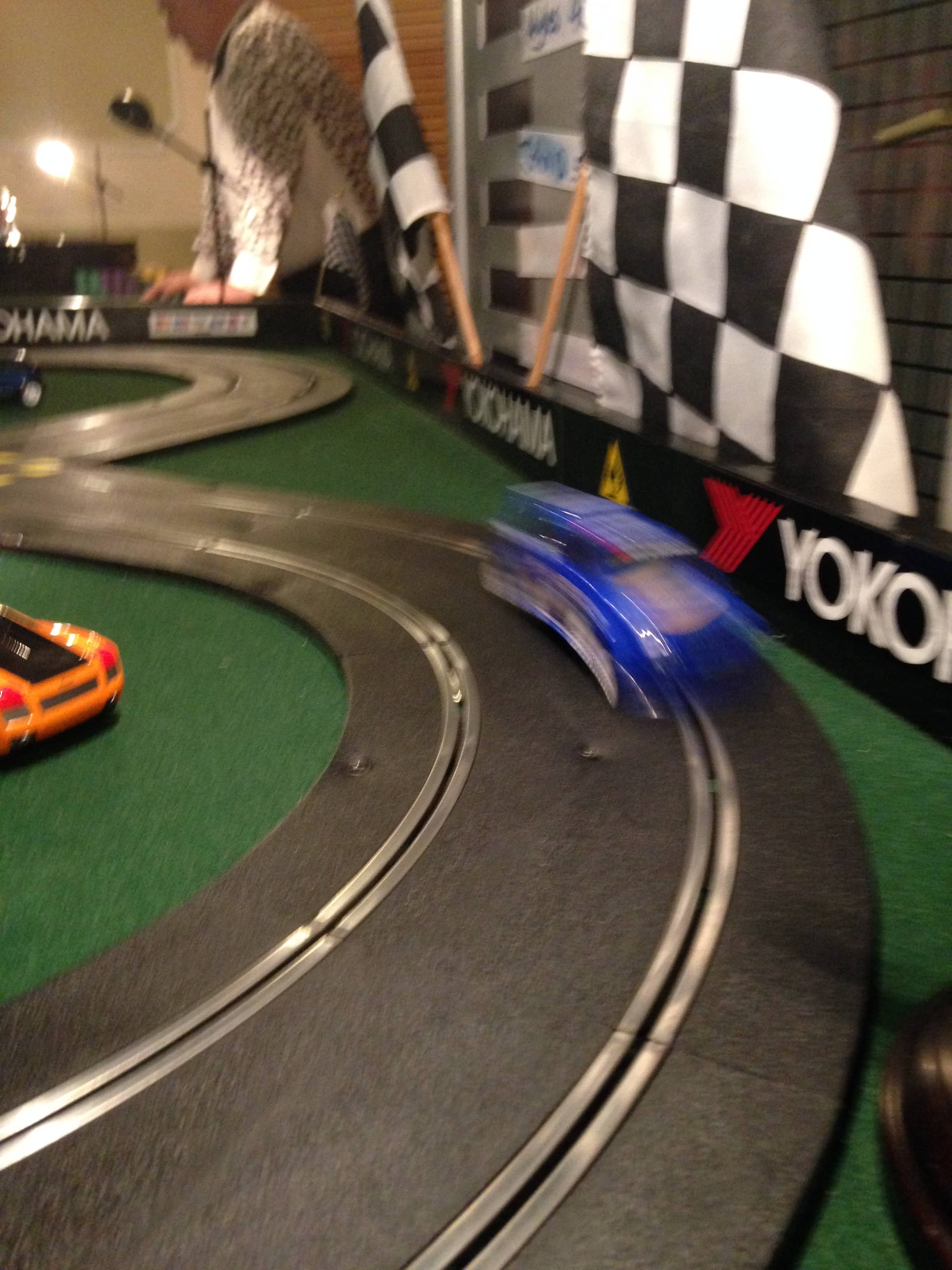 Scalextric Wedding