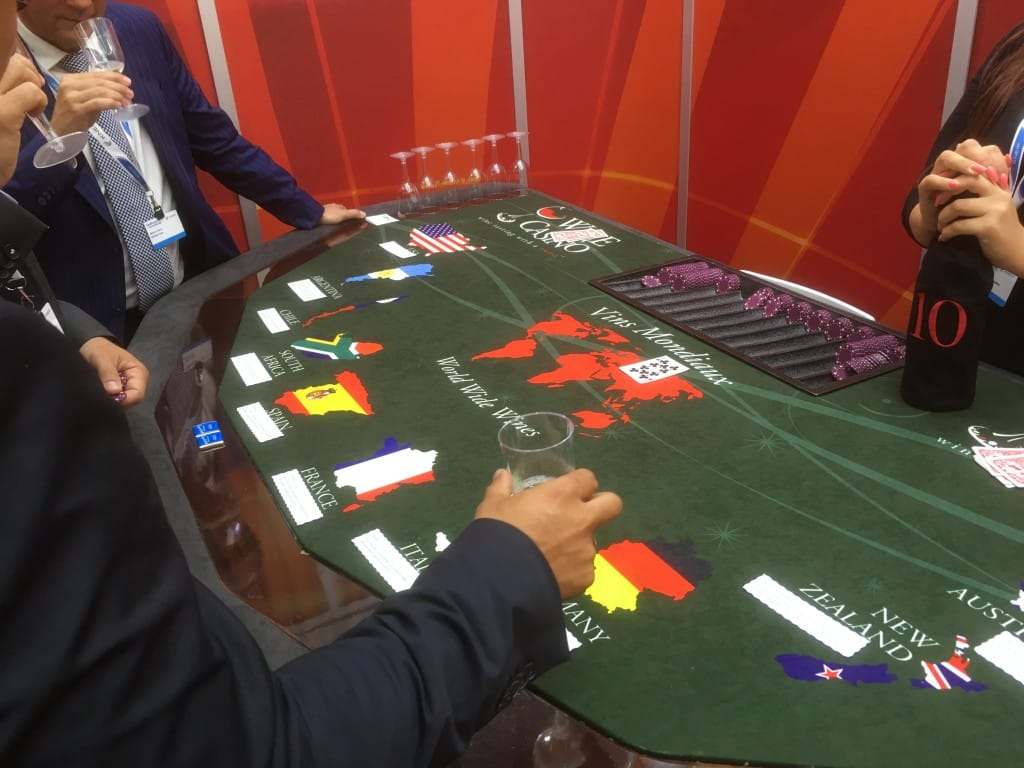 Wine Casino Table