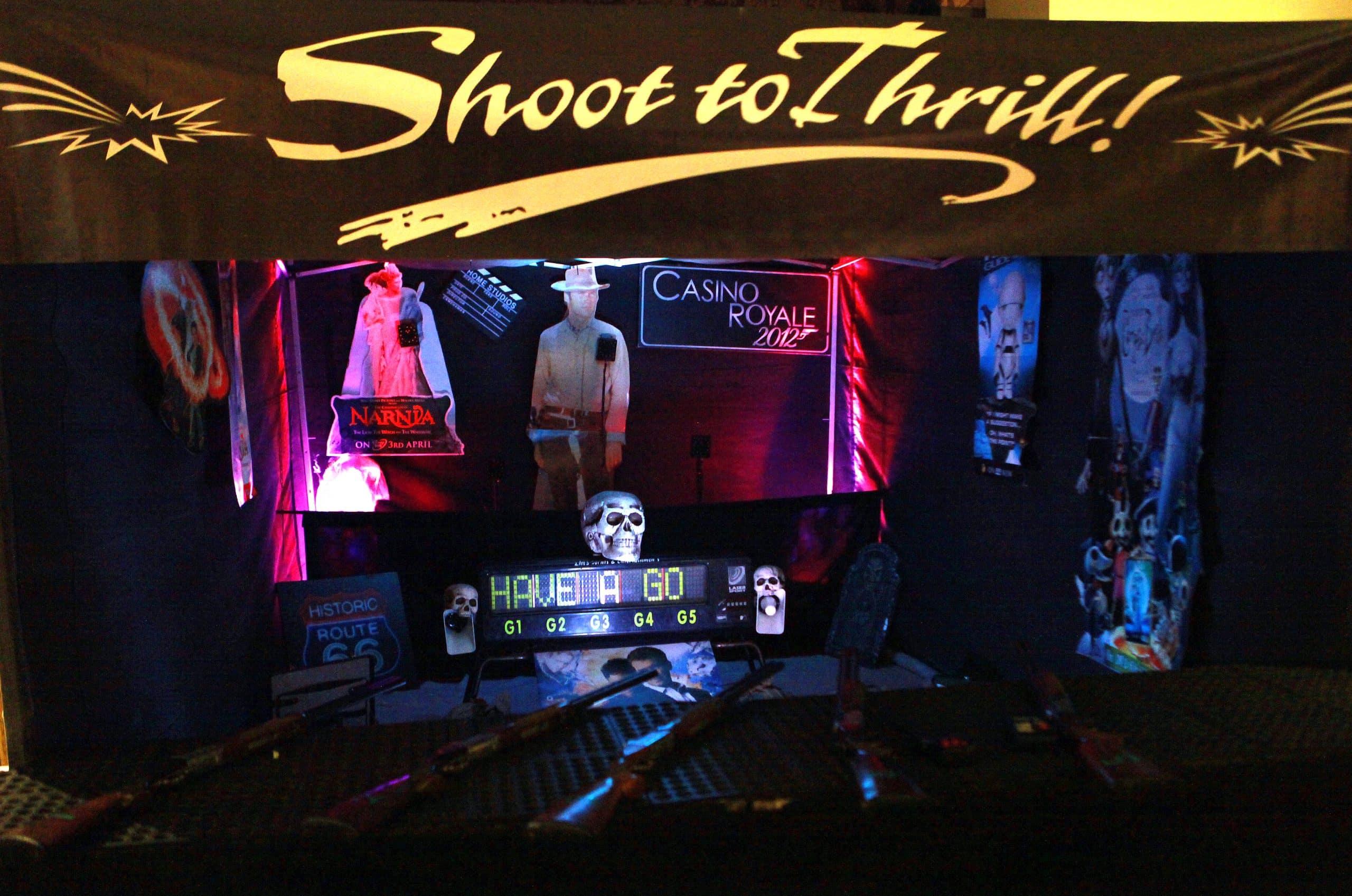 Indoor Laser Shooting