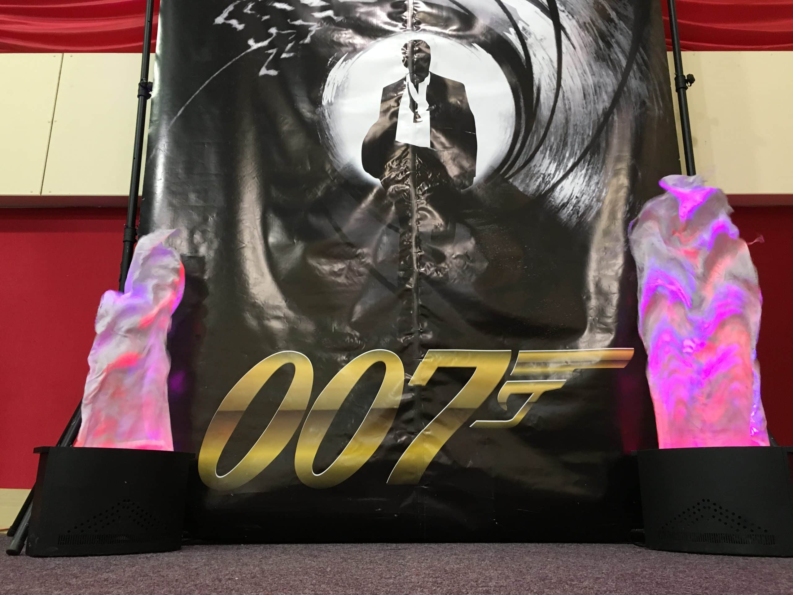Bond Backdrop