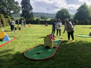 Hire Crazy Golf