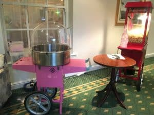 Popcorn and Candyfloss