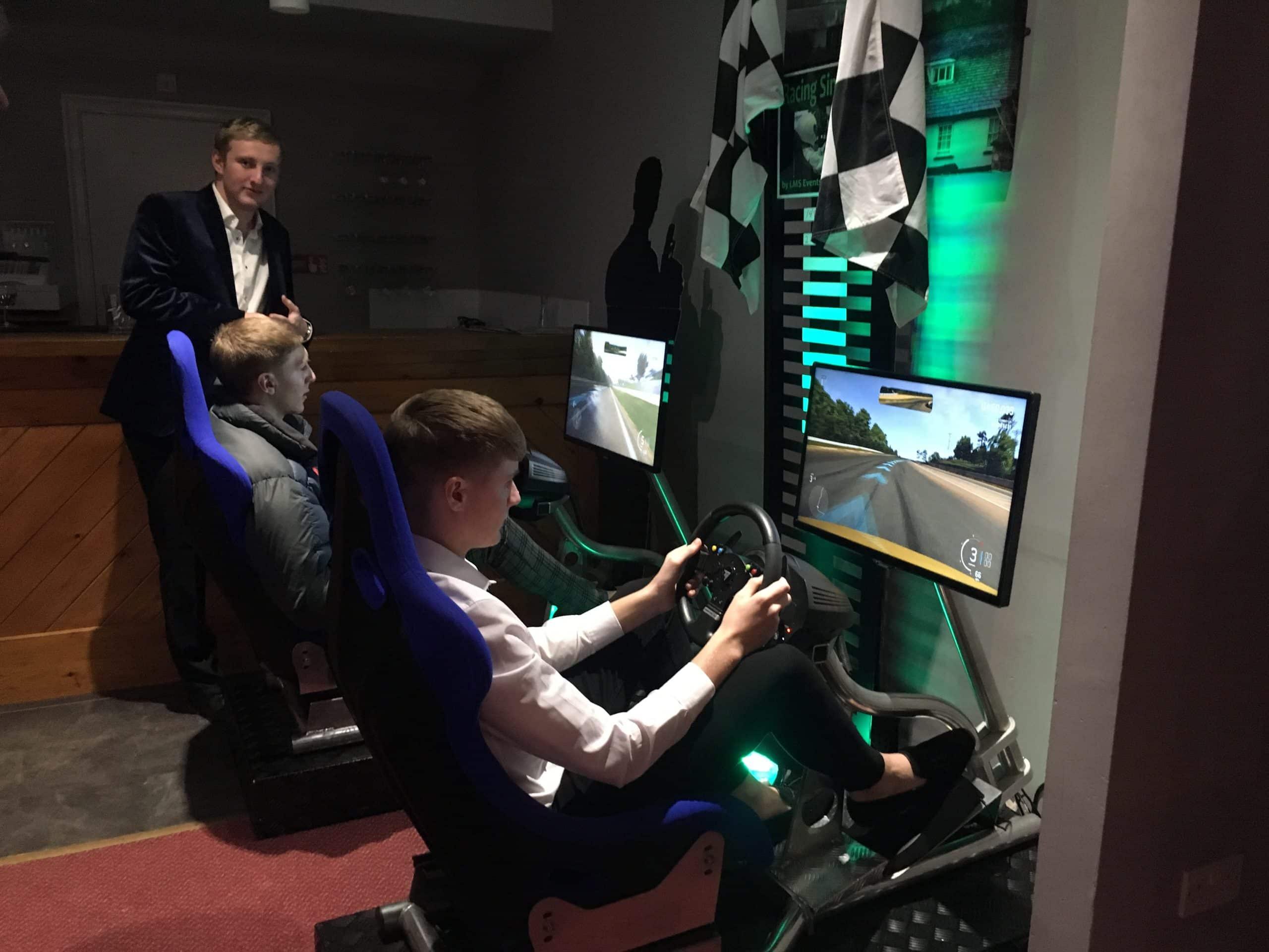 racing sim hire