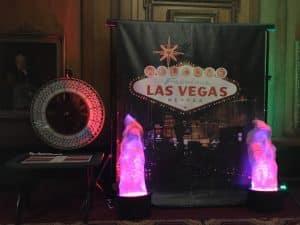 Vegas Backdrop