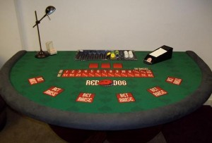 Red Dog Table