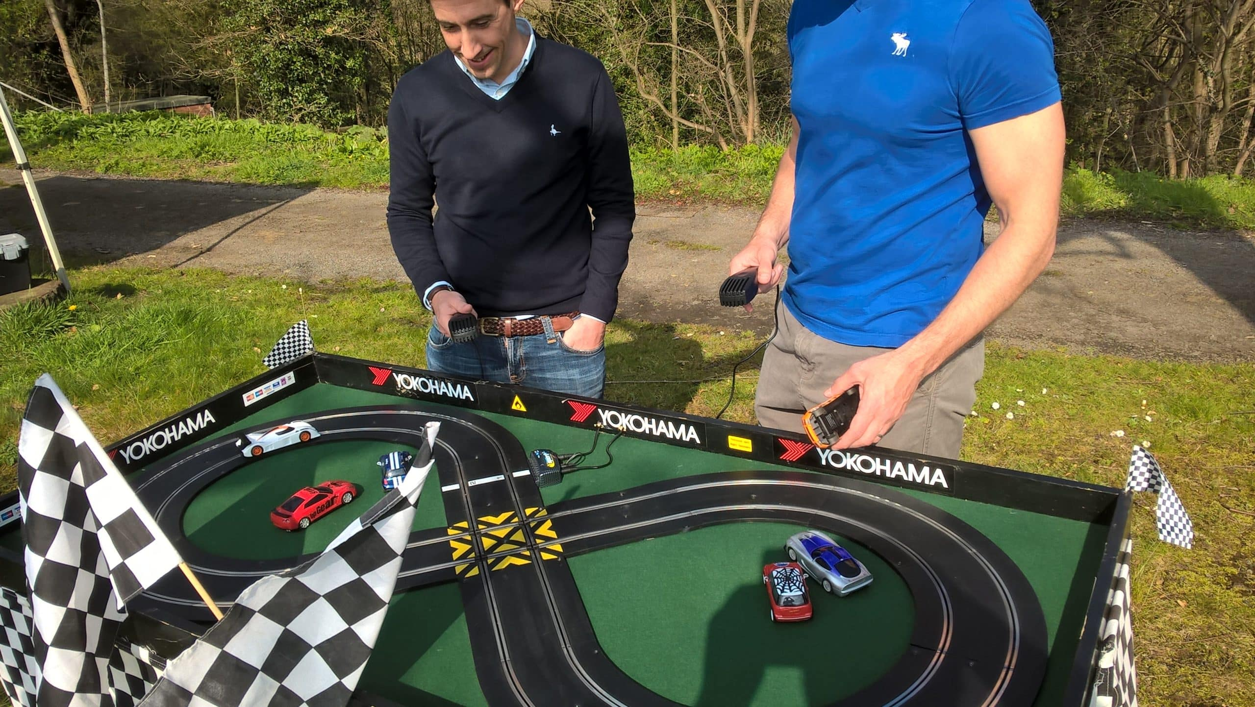 mini scalextric hire
