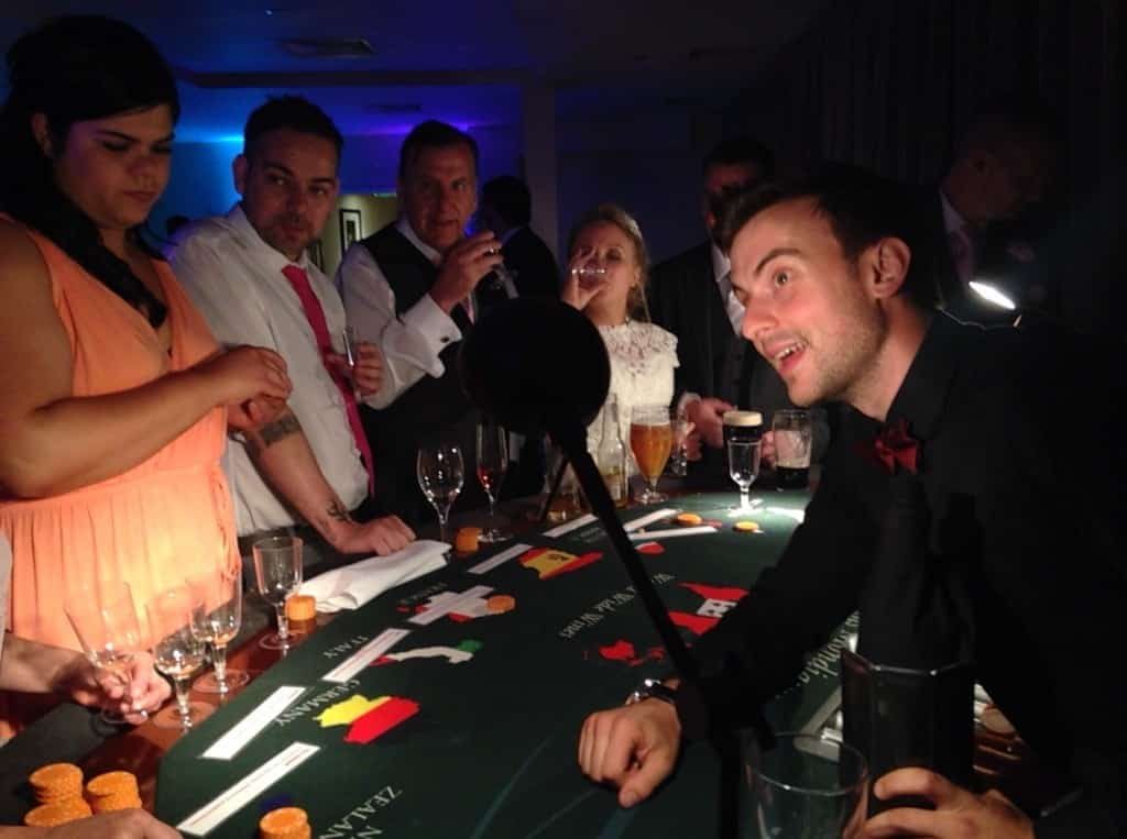 Wine Tasting Casino in Play